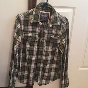 Abercrombie & Fitch Plaid Long-Sleeve